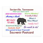 Sevierville, postal de Tennessee