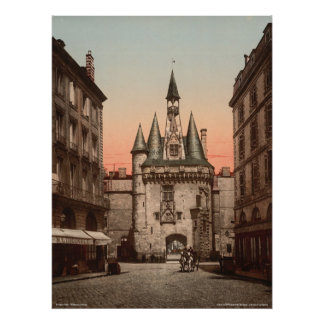 Sevigne gate, Bordeaux, France Poster