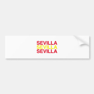 SEVILLA BUMPER STICKER