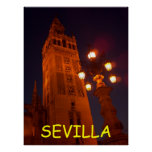 Sevilla Catedral-Spain Poster