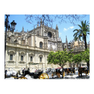 Sevilla/Catedral Tarjetas Postales