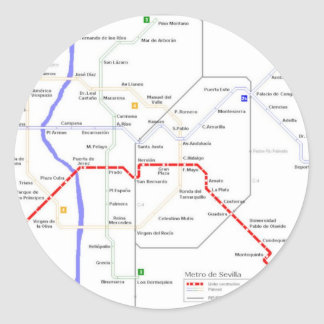 Metro Map Stickers Zazzle