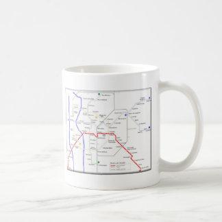 Sevilla Metro Map Coffee Mug