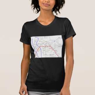 Sevilla Metro Map T-Shirt