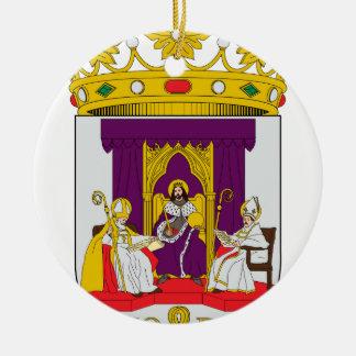 Sevilla (Spain) Coat of Arms1 Ceramic Ornament