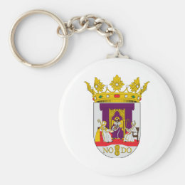 Sevilla (Spain) Coat of Arms1 Keychain