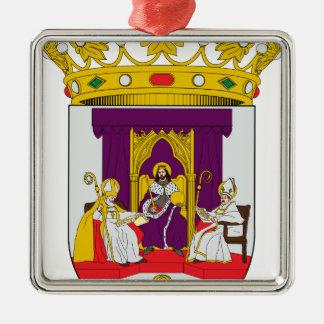 Sevilla (Spain) Coat of Arms1 Metal Ornament