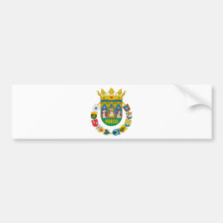 Sevilla (Spain) Coat of Arms2 Bumper Sticker