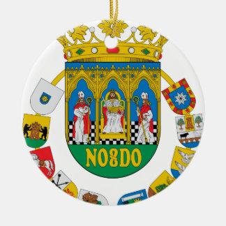Sevilla (Spain) Coat of Arms2 Ceramic Ornament