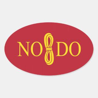 Sevilla (Spain) Flag Oval Sticker