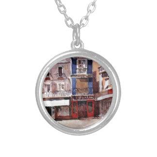 Seville by Vasily Surikov Round Pendant Necklace