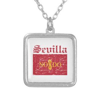 Seville City Designs Square Pendant Necklace