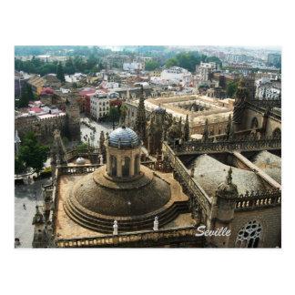 Seville from La Giralda Postcard