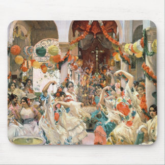 Seville (oil on canvas) mouse pad