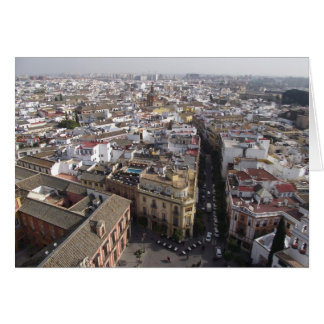 Seville, Spain from the cathedral Card