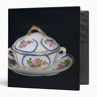Sevres bowl and plate, 1764 3 ring binder