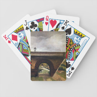 Sevres Bridge by Henri Rousseau Bicycle Playing Cards