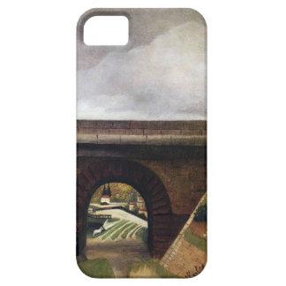 Sevres Bridge by Henri Rousseau iPhone 5 Cases