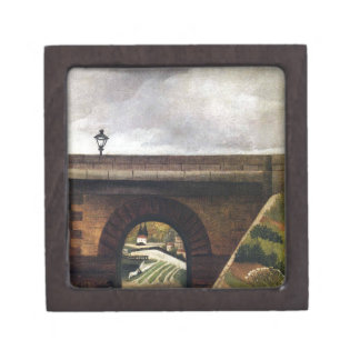 Sevres Bridge by Henri Rousseau Jewelry Box