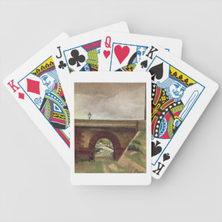 Sevres Bridge (oil on canvas) Bicycle Playing Cards