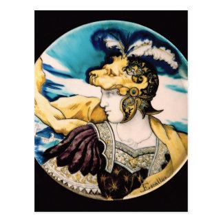 Sevres dish, after Giulio Romano Postcard