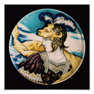 Sevres dish, after Giulio Romano Print