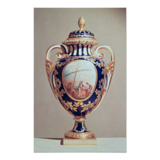 Sevres vase, mid 18th century poster