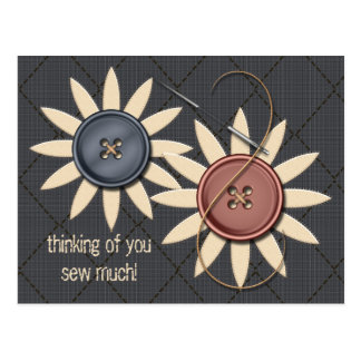 Sew and Sew Post Card