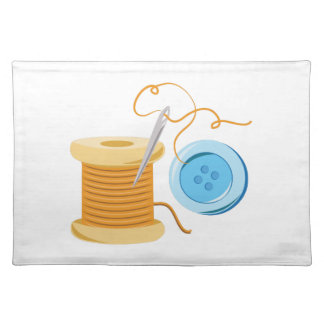 Sew Button Placemat