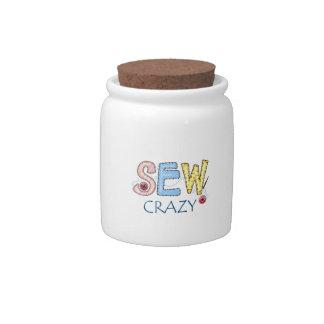 SEW CRAZY CANDY DISH
