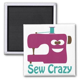 Sew Crazy Magnet