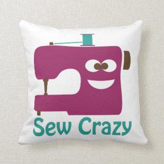 Sew Crazy Throw Pillows