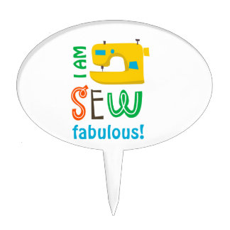 SEW FABULOUS CAKE TOPPERS