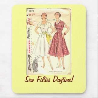 Sew Fifties Daytime Mouse Pad