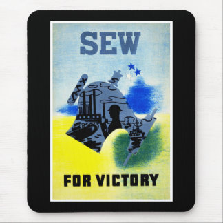 Sew for Victory Mouse Pad