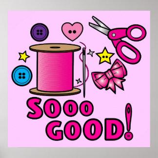 Sew Good! Poster