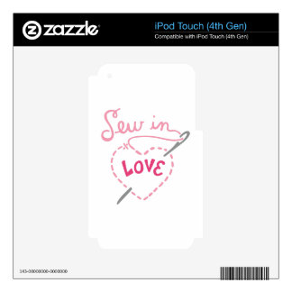 Sew In Love Decals For iPod Touch 4G