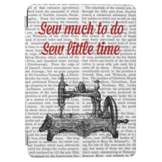 Sew Little Time Illustration iPad Air Cover