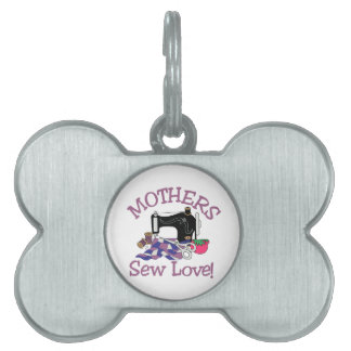 Sew Love Pet Name Tag