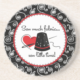 Sew Much Fabric Coaster