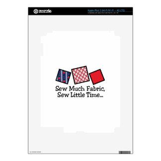 Sew Much Fabric iPad 3 Skins