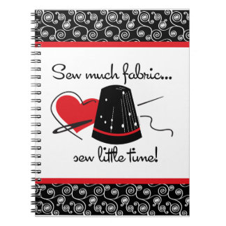 Sew Much Fabric Notebook