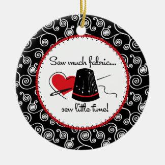 Sew Much Fabric Ornament