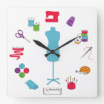 Sew Right Time Wall Clock