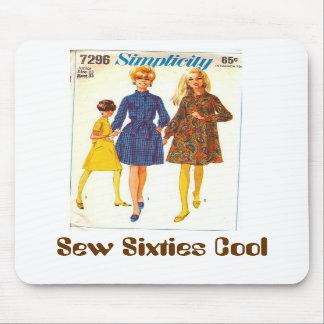 Sew Sixties Cool Mousepad