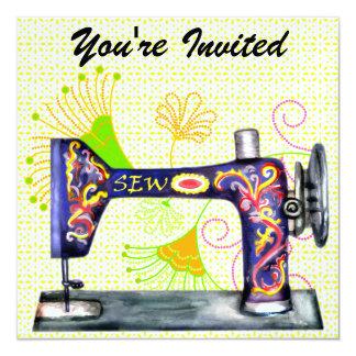 Sew So Pretty Invitation - SRF