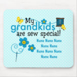 Sew Special Grandkids Personalized Mousepad