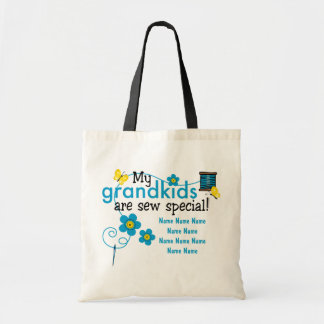 Sew Special Grandkids Personalized Tote Bag