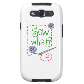 Sew What? Galaxy S3 Cases