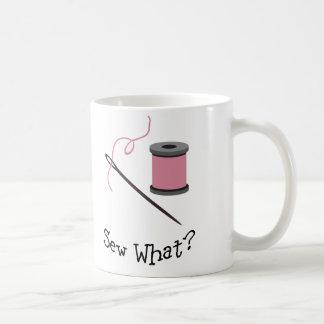 Sew What? Coffee Mug